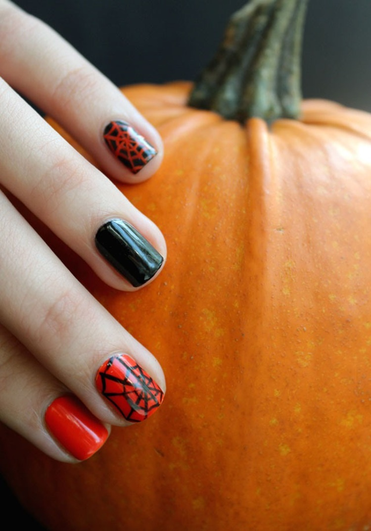 32 Pictures of Halloween Nail Color Ideas you should try