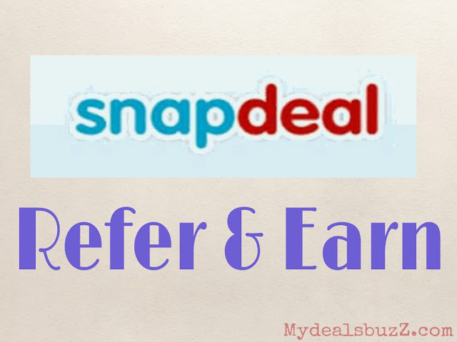 Snapdeal Refer and Earn Freecharge credits