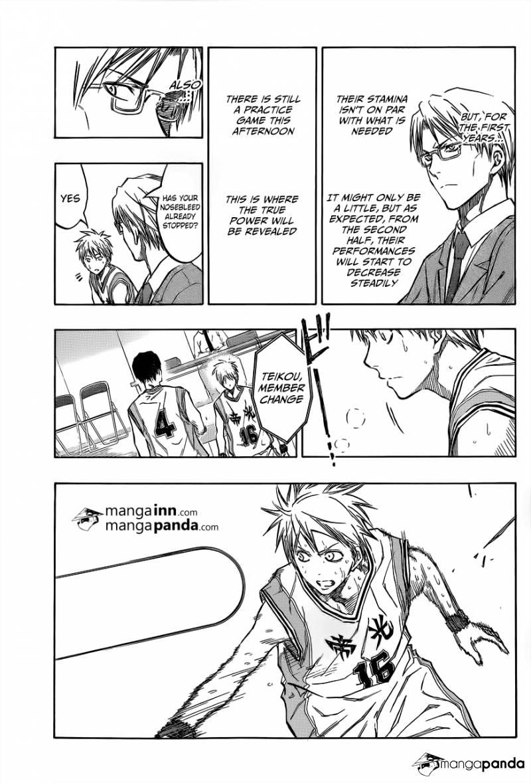 Kuroko no Basket Manga Chapter 208 - Image 15