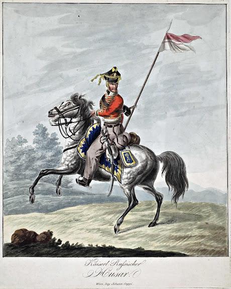 Hussards russes ---> hussards français Cappi_russen_tafel15