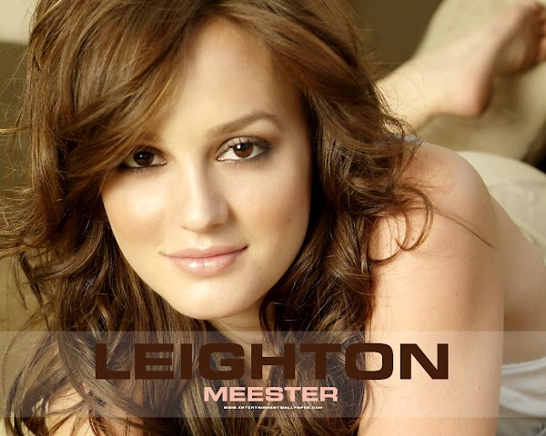 Leighton Meester Wallpaper(15pics):picasa,girls magazine