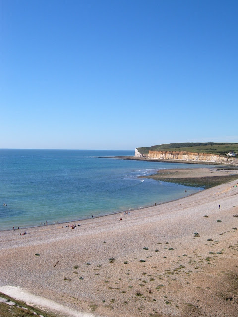 Cuckmere Beach from 7 Sisters