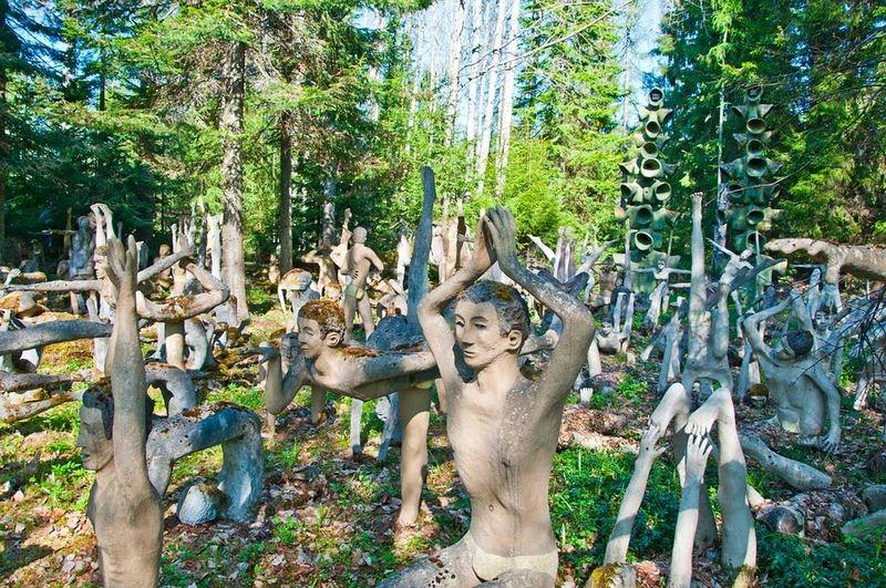 Veijo Rönkkönen's Sculpture Park