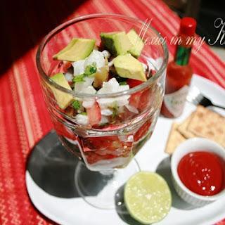 Mexican Ceviche Recipe / Receta de Ceviche Mexicano