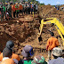 Pencarian Korban Longsor Cisolok Sukabumi, 4 Excavator 7 Pompa Air Diturunkan