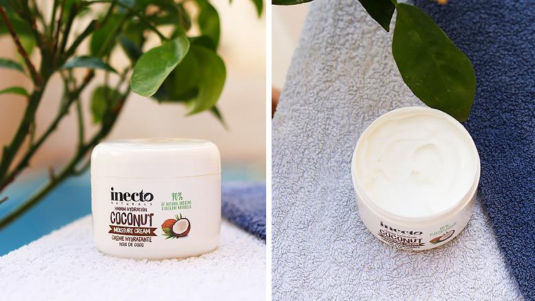 Crème hydratante de la marque Inecto.
