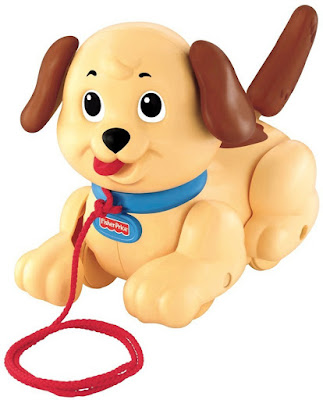 Đồ chơi Xe kéo con chó Fisher-Price Lil' Snoopy Pull Along Dog H9447