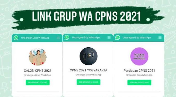 Link Grup Whatsapp CPNS 2021