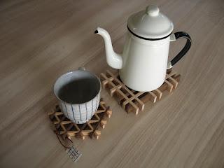 ワッフルコースター waffle kumiko coaster