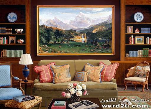 لوحات فنيه تزينها لوحات عالميه