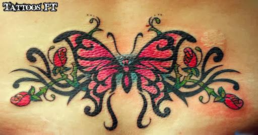 lower back tattoos tattoos ideas. Black Bedroom Furniture Sets. Home Design Ideas