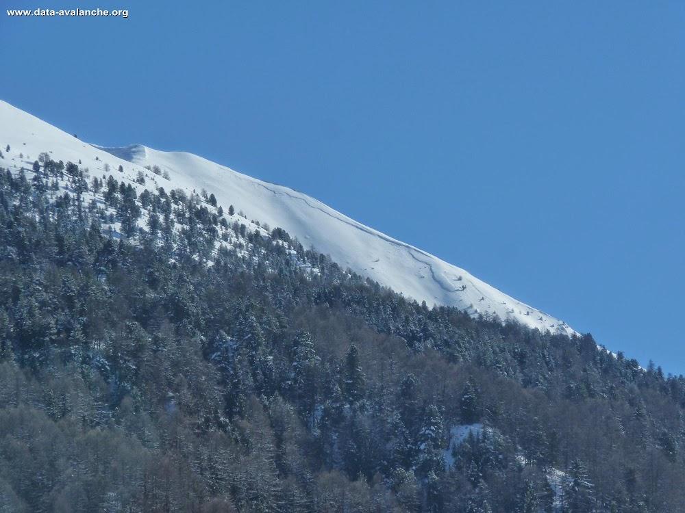 Avalanche Queyras, secteur Le Marcous - Photo 1