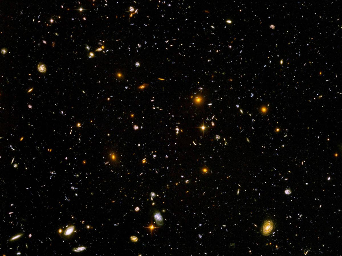 Dimensioni dell'universo: errori comuni