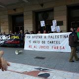 Non al xuiciu farsa. Palestina llibre