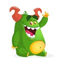 Cartoon Funny Monster Illustration Free Download Vector CDR, AI, EPS and PNG Formats