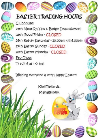 easter monday trading hours - photo #5