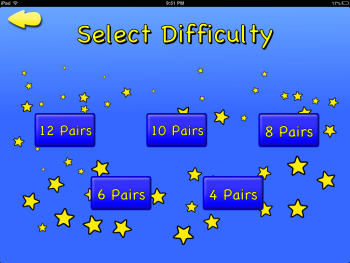 Mneemo! Select Difficulty
