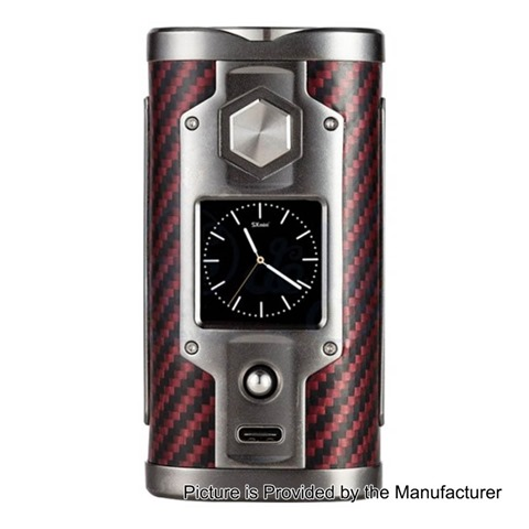 authentic sxmini g class 200w limited edition tc vw variable wattage box mod kevlar red 5200w 2 x 18650 thumb%255B5%255D - 【海外】「SXmini G Class 200W Limited Edition」「ADVKEN Mad Hatter 24 Silver RDA + Mechanical Modキット」オフィスエッジ25%オフセール明日まで