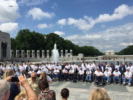 At the WW2 Memorial