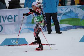Canadian skiier Zina Kocher