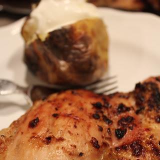 Zesty Garlic Lemon Grilled Boneless Chicken Thighs