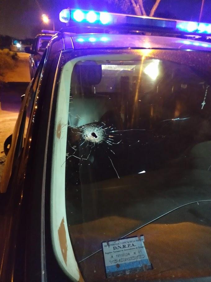 Enfrentamiento armado con la Policia,  terminó con un herido y detenido en Barrio Alto Verde