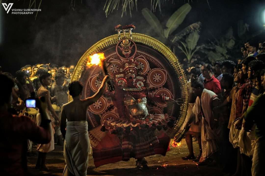 Panchuruli Theyyam - പഞ്ചുരുളി