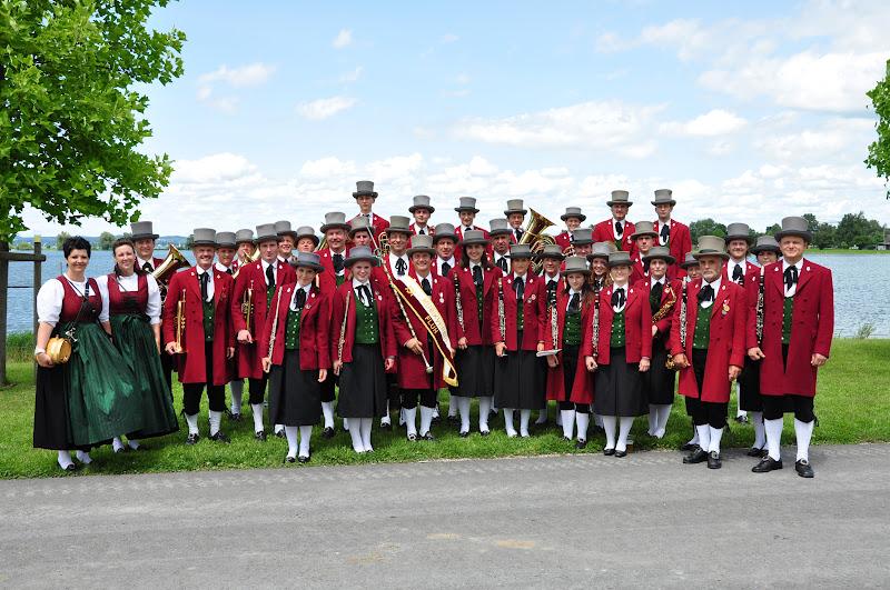 Marschmusikwettbewerb in Hard am 14.07.2012