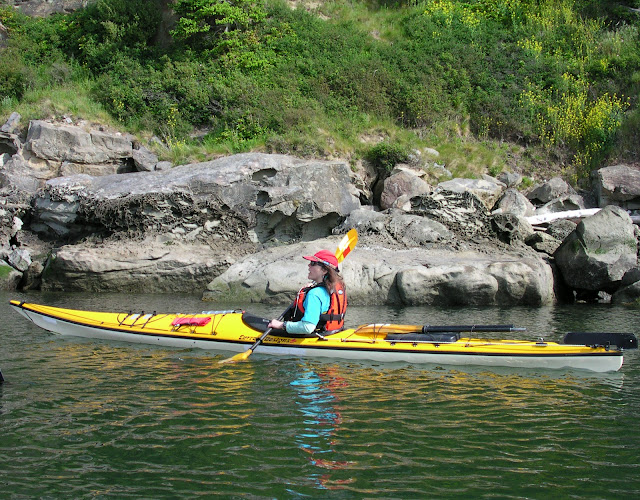 Enjoying the scenery along Chuckanut Drive with a leisurely kayak ride.  / Credit: Christine Jenkins