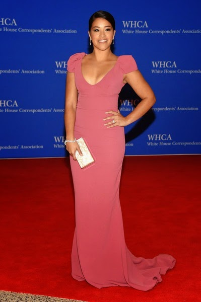 Gina Rodriguez attends the 101st Annual White House