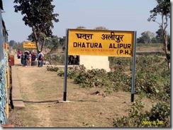 Dhatura Alipur Railway Station
