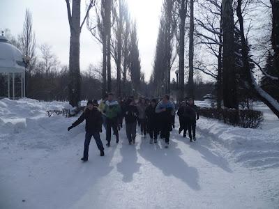 23-го февраля по всей России прошли акции здоровой молодёжи - Москва