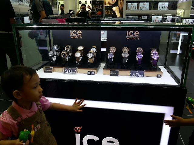 Hadiah Birthday Dari Suami - Ice Watch
