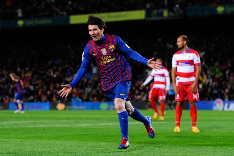 Messi, Barcelona - Granada