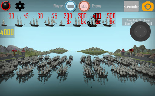 MEDIEVAL NAVAL WARS: FREE REAL TIME STRATEGY GAME 1.1 screenshots 1