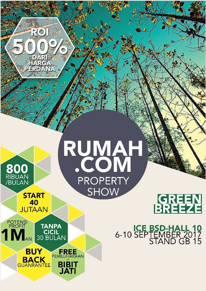 Green breeze di pameran rumah.com property show