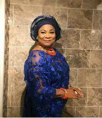Sola Sobowale's look to an Owambe Party