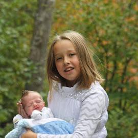 My baby brother by Snow Losh - Babies & Children Children Candids