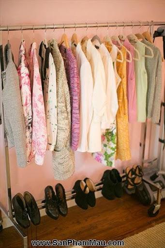 Thiết kế tủ quần áo: Một số thủ thuật giúp tăng diện tích để quần áo-10