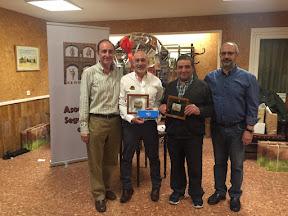 LORENZO ISABEL y ROBERTO IÑIGO, Campeones del II TORNEO DE NAVIDAD