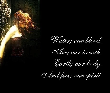 Wiccan Poem Wicca Our Blood, Blessed Be