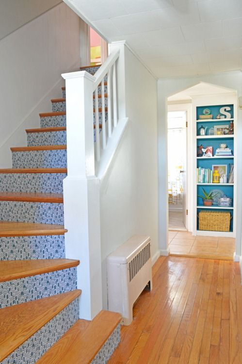 stair way makeover and update