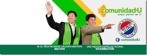 Junio 13: Elecciones para rector y vicerrector de la UPEA