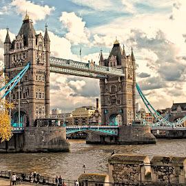 Londres - Tower bridge by Gérard CHATENET - Buildings & Architecture Bridges & Suspended Structures (  )