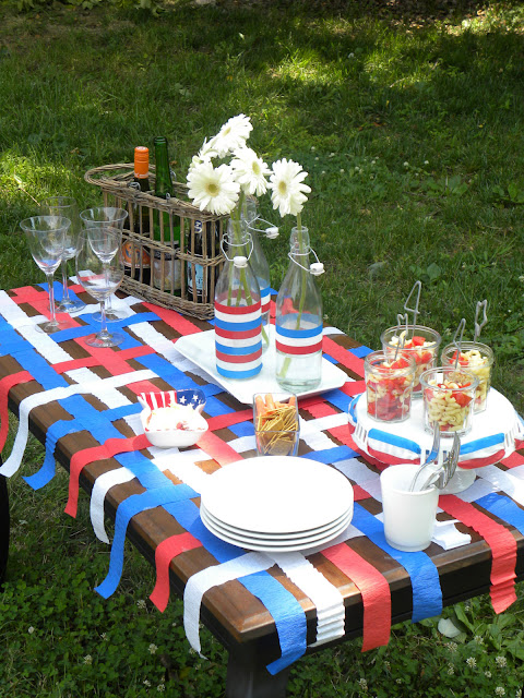 Pink To Green July 4th Entertaining Ideas