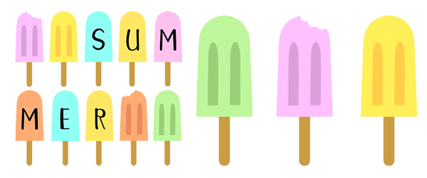 Summer popsicle exampel