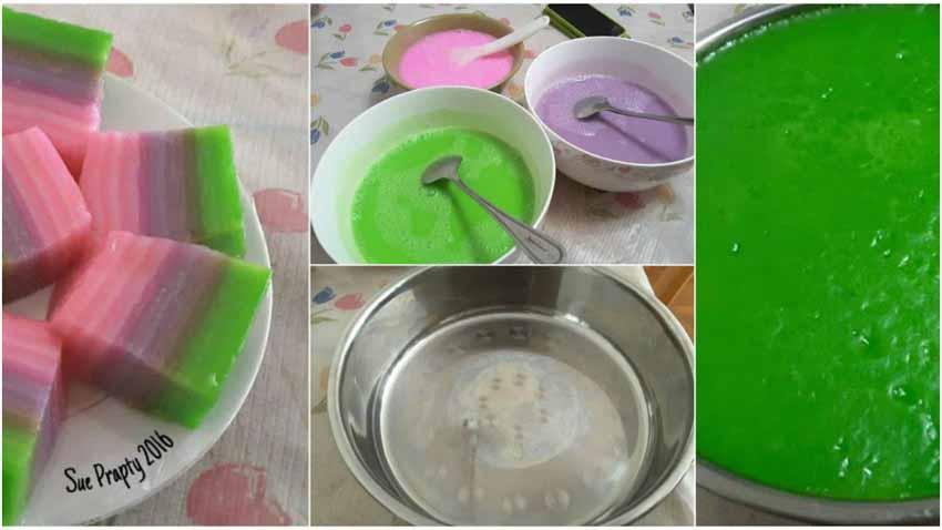 Resep Membuat Kue Lapis Pelangi Yang Kenyal Enak dan Legit by Sue Prapty Resep Membuat Kue Lapis Pelangi Yang Kenyal Enak dan Legit by Sue Prapty