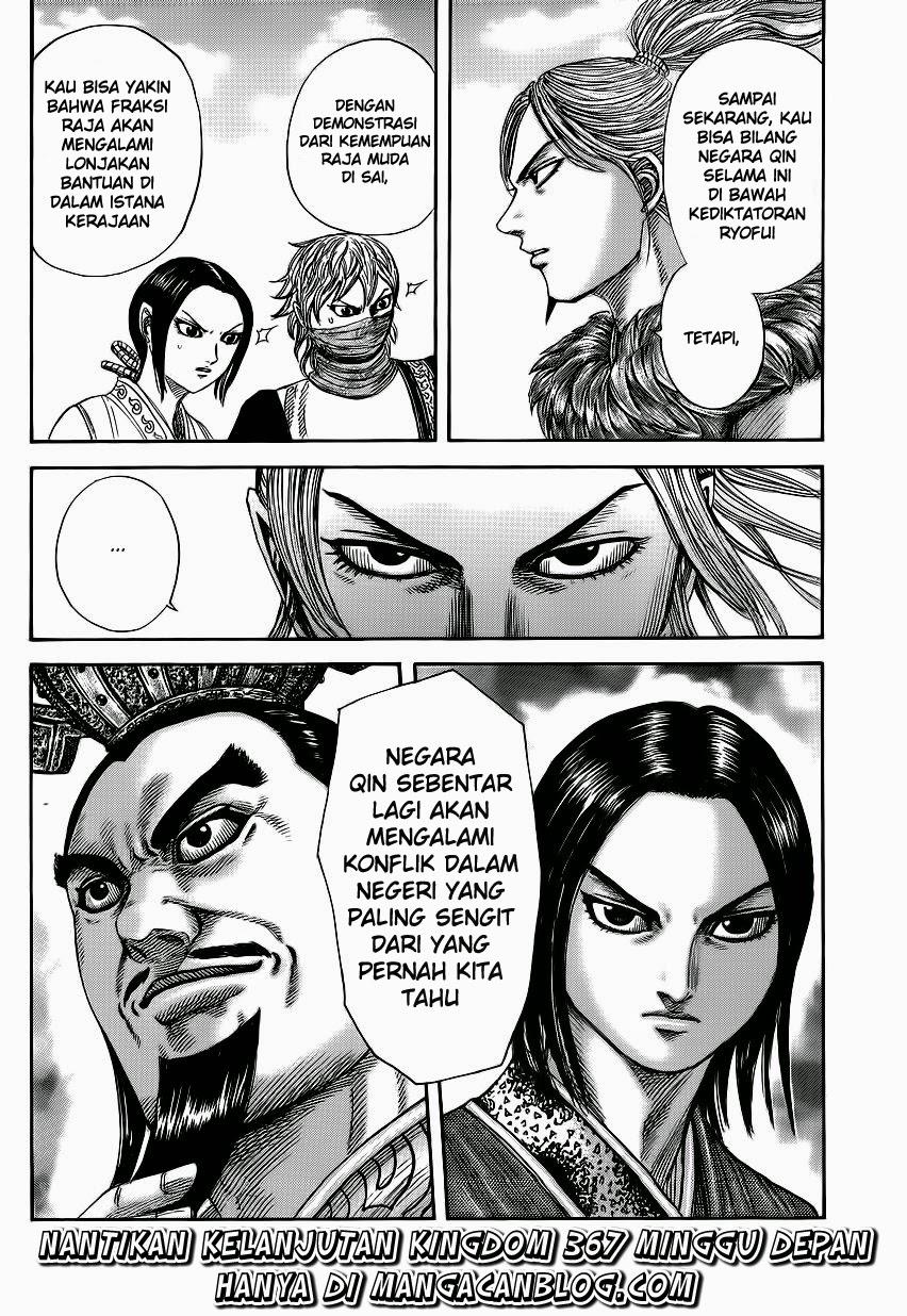 Baca Manga Kingdom Chapter 366 Komik Station