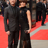 OIC - ENTSIMAGES.COM - Vincent Simone and Flavia Cacace at the The Olivier Awards in London 12th April 2015  Photo Mobis Photos/OIC 0203 174 1069