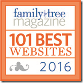 The Ancestry Insider is a Family Tree Magazine 101 Best Websites for 2016